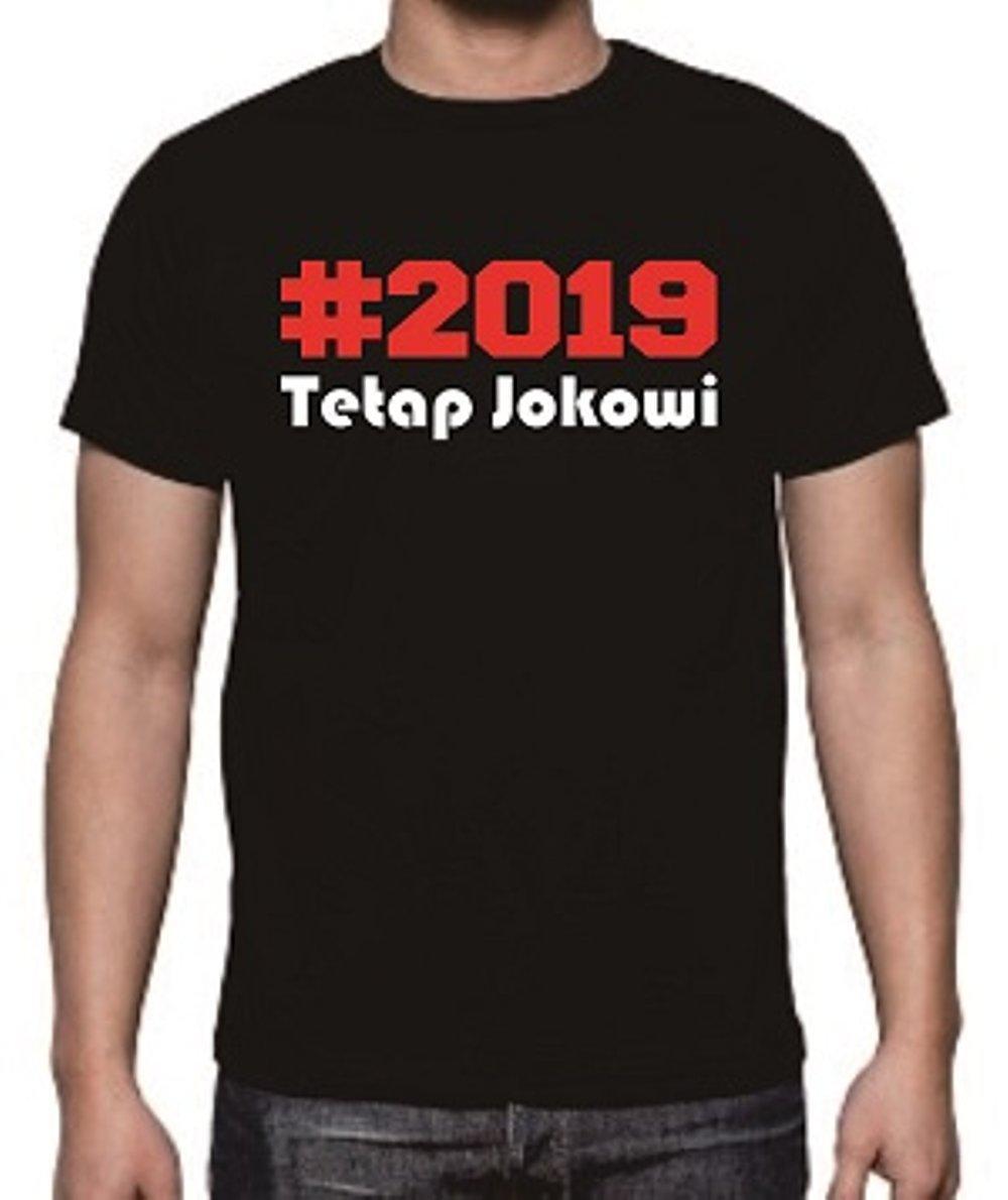 D|F.co Kaos Distro Tetap Jokowi Kualitas Premium 100% Cotton Combed