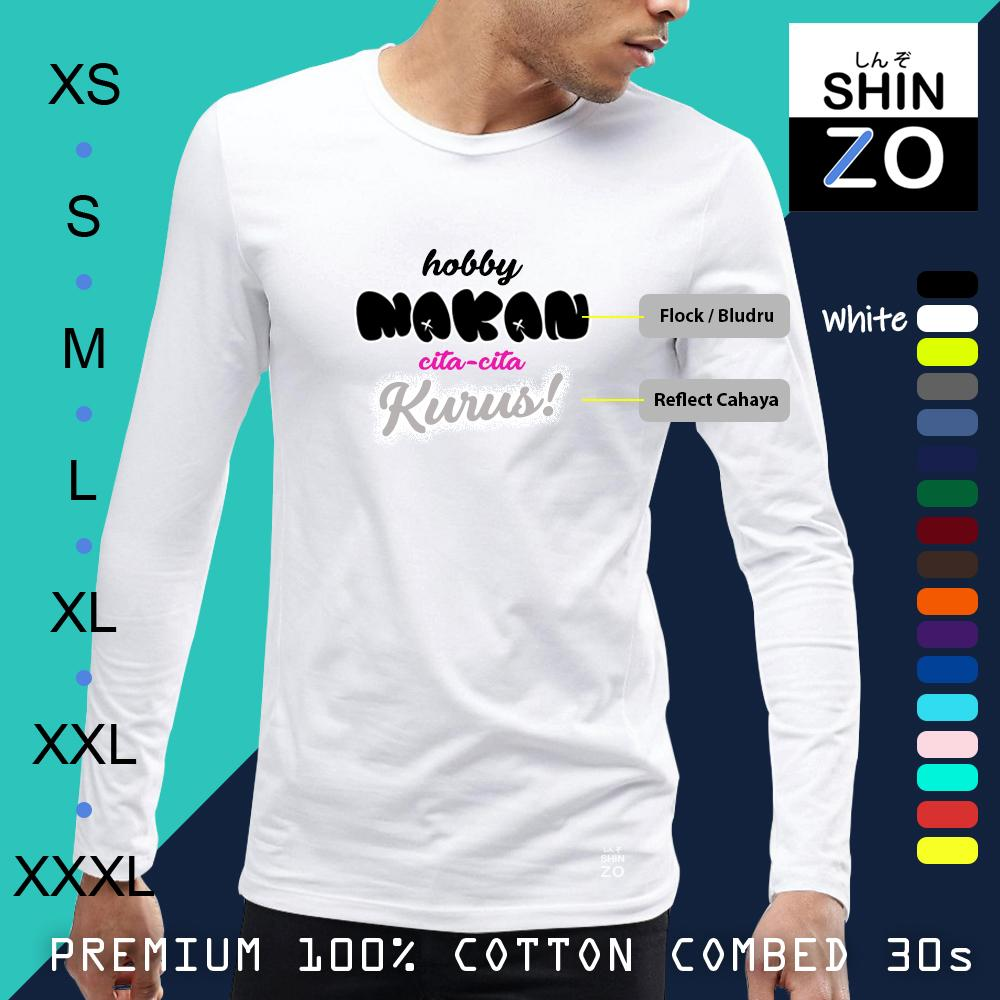 ... Cotton Combed 30s Ring Spun Export Quality - Oblong Distro T Shirt Tee Casual Fashion Atasan Cloth Anime Custom Lengan Panjang Pria Wanita -Tumblr Tee ...