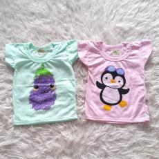 Baju Bayi Kaos Minime Ukuran M - Terong gudangsaya