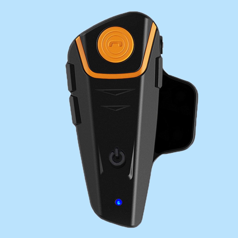 1 Pair BT-S2 Bluetooth Bebas Genggam Nirkabel Motor Interkom Headset Helm Motor Intercom Interfon dengan 1000 M FM Radio MP3 Pemain Sistem Komunikasi
