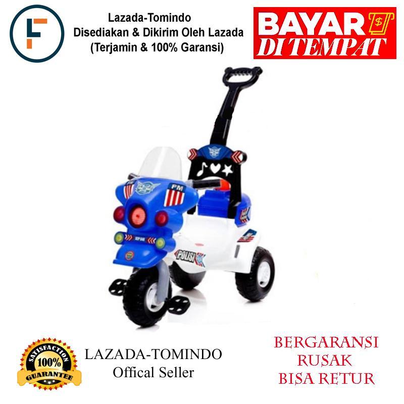 Tomindo Toys Sepeda Motor Polisi SCP 640 / sepeda polisi / mainan anak