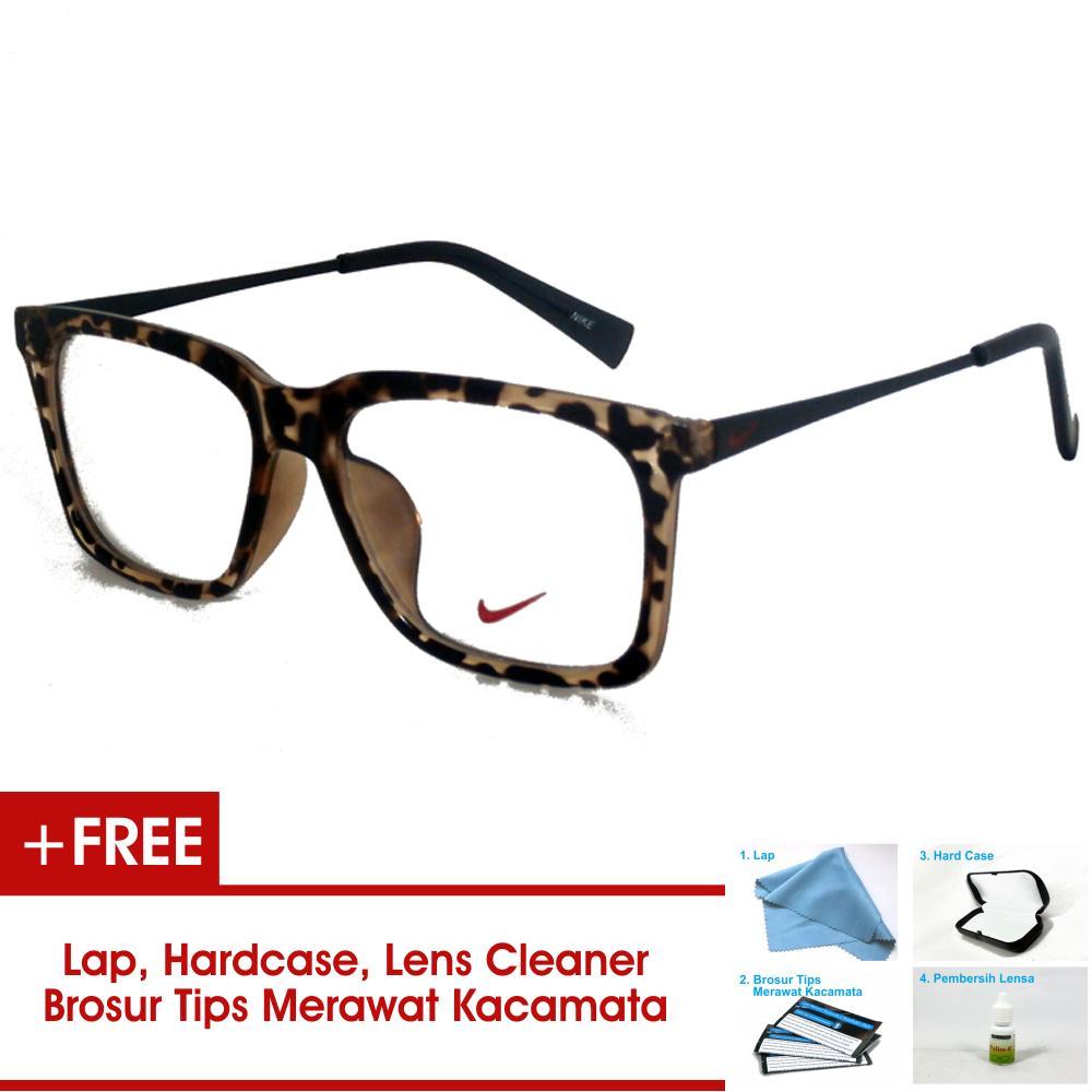 Frame Kacamata Pria Wanita Korea Vintage 7875 Hitam Glossy Bisa Dipasang Lensa Minus Di Optik Terdekat