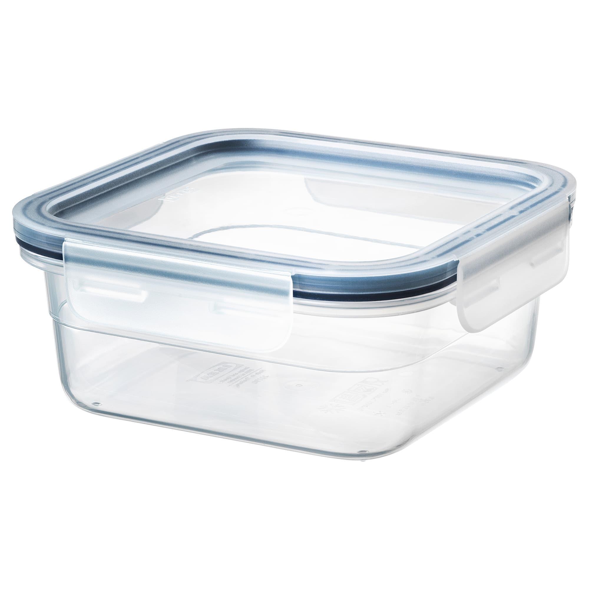 PROMO!! IKEA 365  Kotak makan dengan penutup, segi empat, plastik MURAH /  BUBBLE 3 LAPIS / ORIGINAL / IKEA ORIGINAL