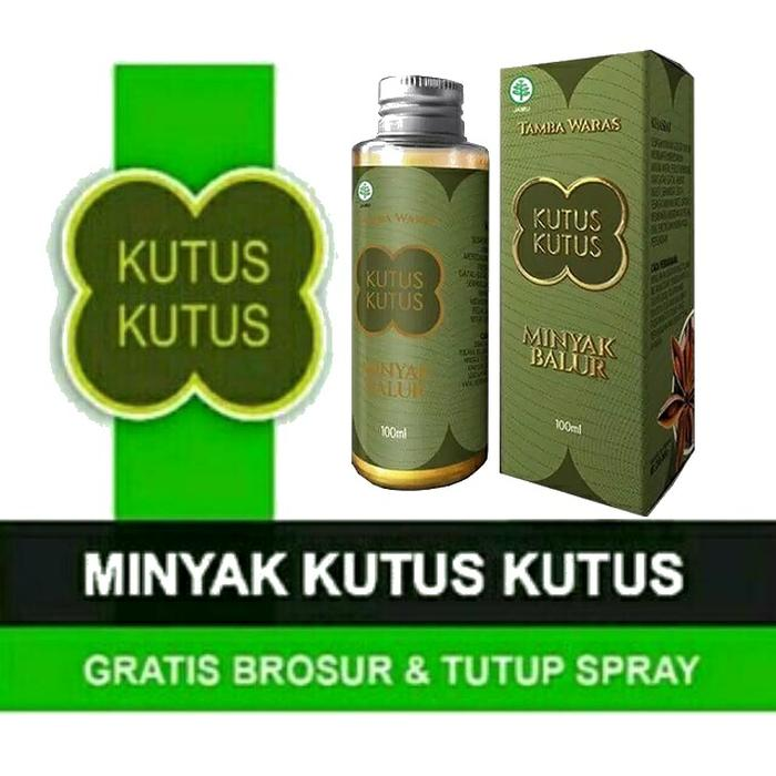 Minyak Gosok Kutus Kutus 100ml Tamba Waras Balur Original Asli Bali By Cssalwacollection.