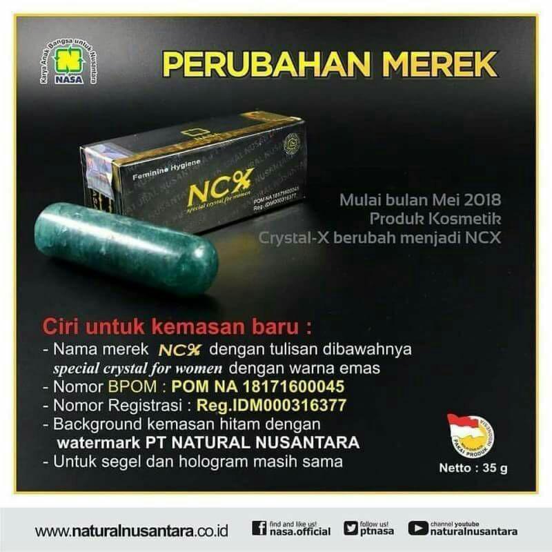 NCX Original Nasa / Agen Nasa Bekasi