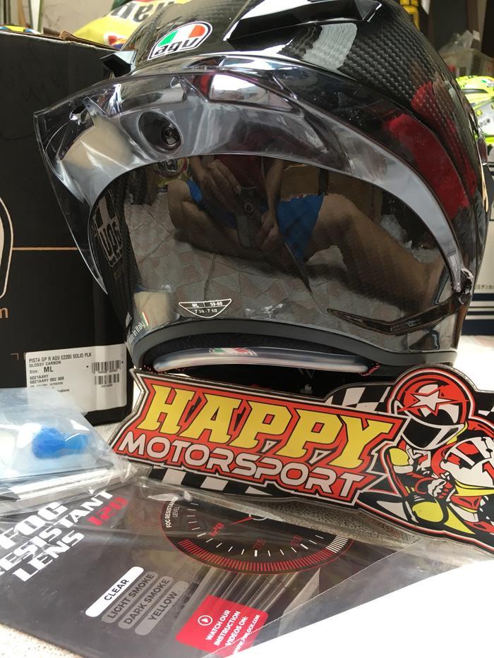 New!! Helm fullface AGV Pista GPR Mono carbon glossy po