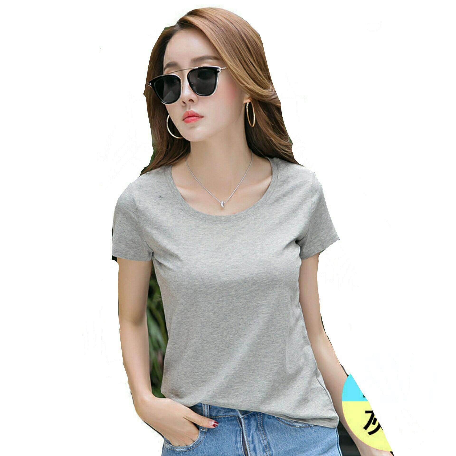 Bratajaya Kaos Wanita T-shirt O neck polos / Kaos Polos / Kaos Wanita