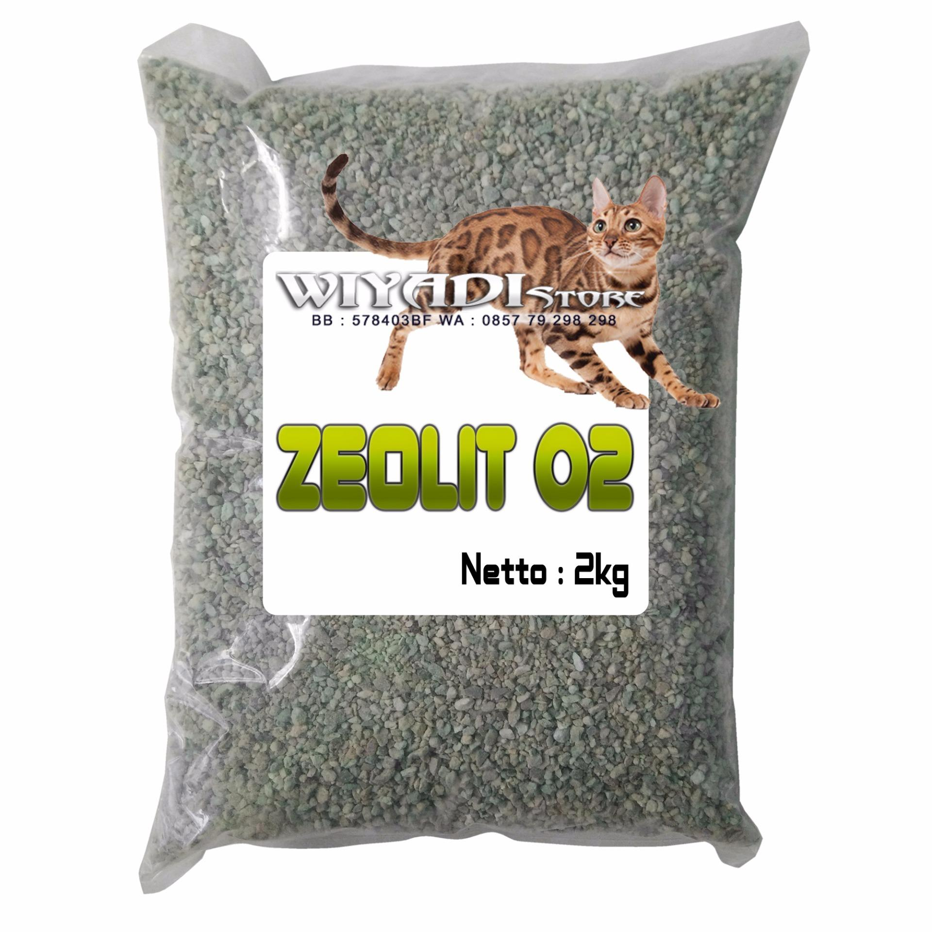 Wiyadistore - Pasir Kucing Zeolit 02 [re-Pack 2kg] By Wiyadistore.