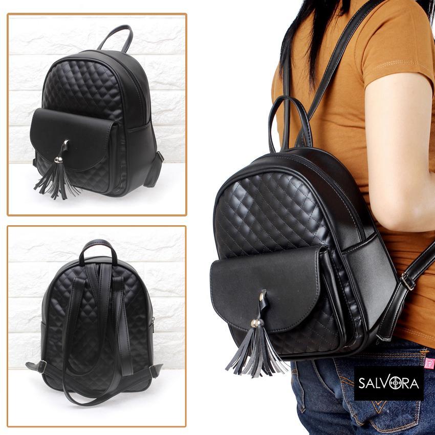 Salvora tas wanita / tas ransel wanita / tas ransel cewek / tas ransel wanita mini / tas ransel kulit/ tas wanita murah SV53