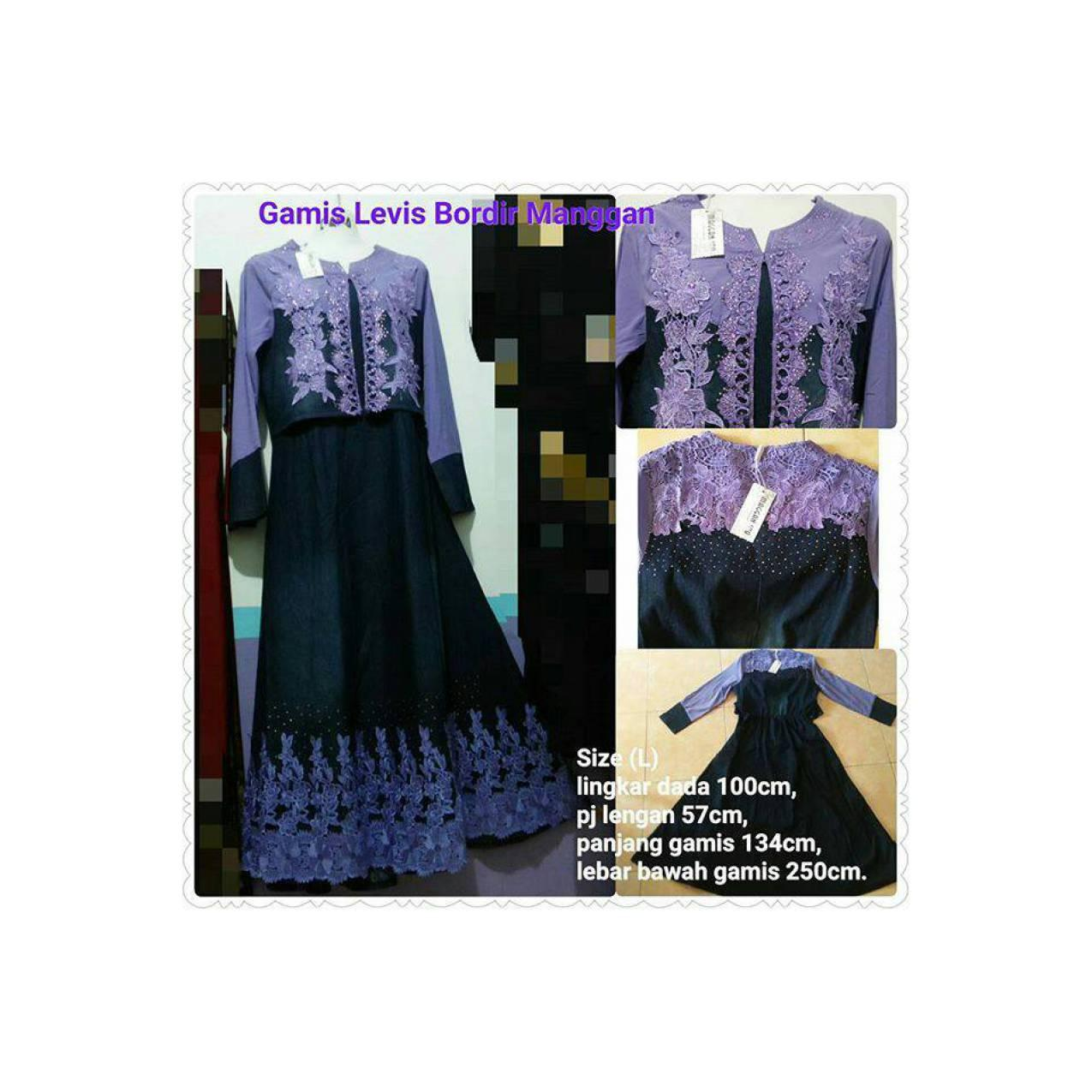 Gamis Levis Princess Purple