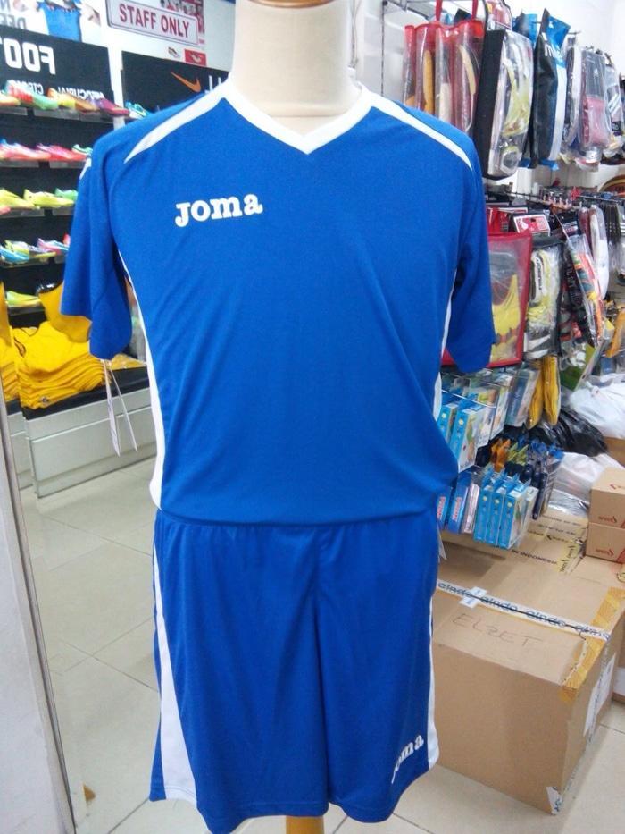 Sedang Diskon!! Kostum Jersey Baju Stelan Sepakbola Futsal Joma Original 100% Murah - ready stock