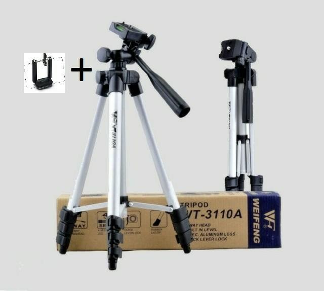 Best Top Seller!! Tripod Weifeng Wt 3110A + Holder U Buat Hp - ready stock