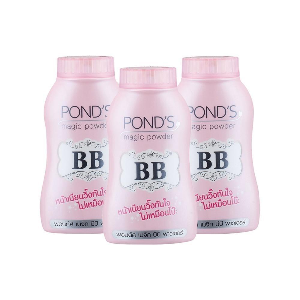 Ponds BB Magic Powder 100% Original Thailand - Bedak Tabur BB Ponds - Bedak Glossy