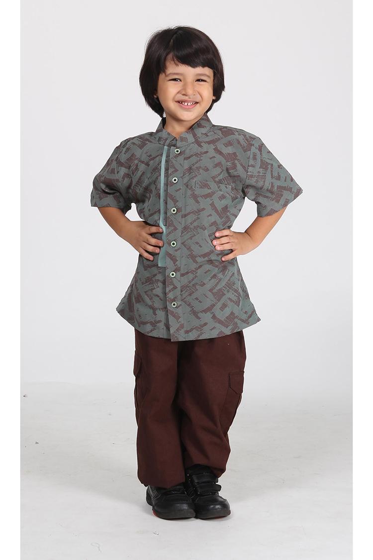 Ethica Moslem Fashion Koko Anak Majma Kids 05 (Hijau)