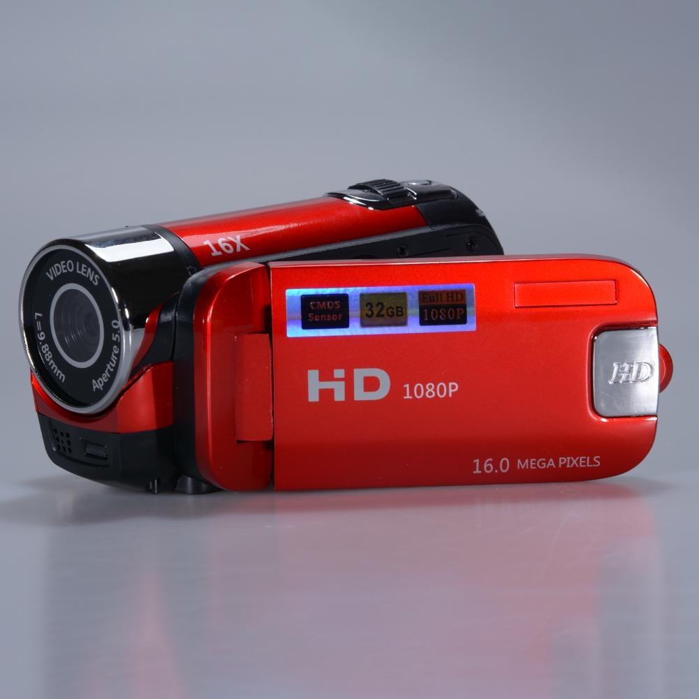 Camera Camcorders, 16mp High Definition Digital Video Camcorder 1080p 2.7 Inches Tft Lcd Screen 16x Zoom Camera Recorder By Redcolourful.