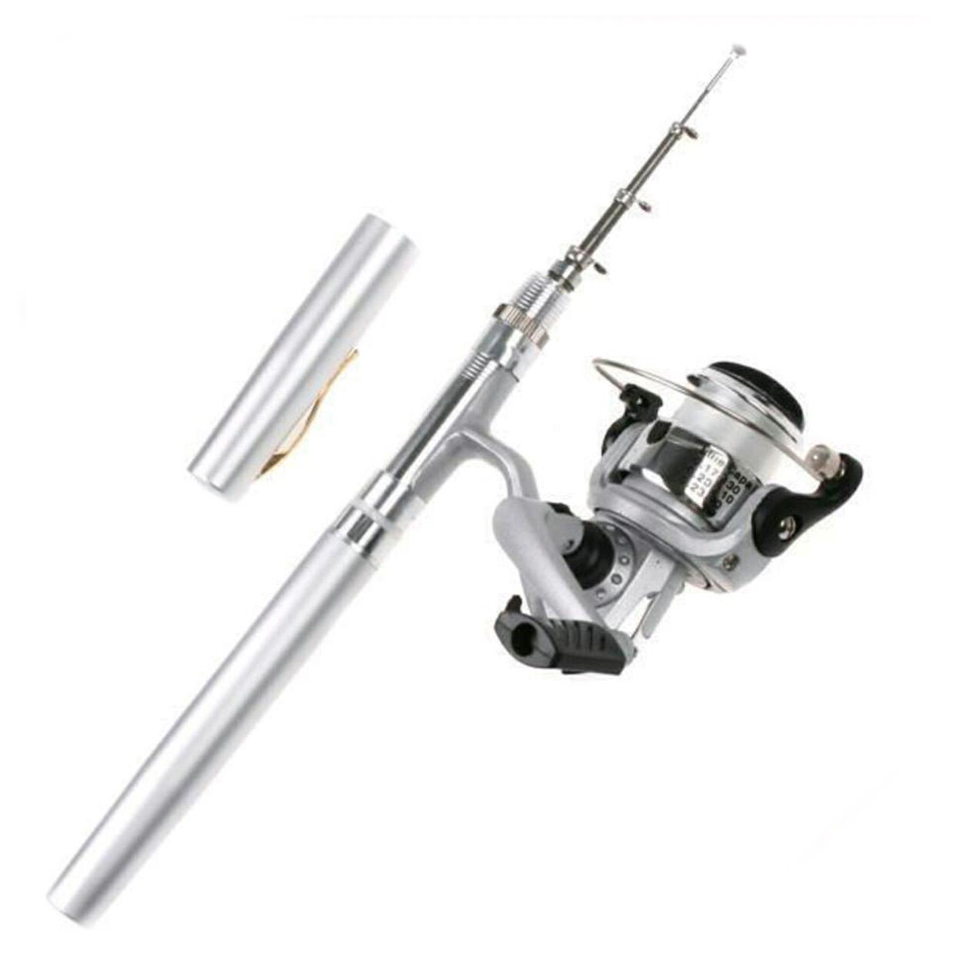 Jual Pena Walesan Joran Pancing 90cm Harga Rp 135000 Mini Portable Extreme Pen Fishing Rod Length 1m