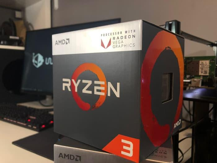 Amd Ryzen 3 2200g Quad-Core 3.5 Ghz Box Processor By Palace Tech.