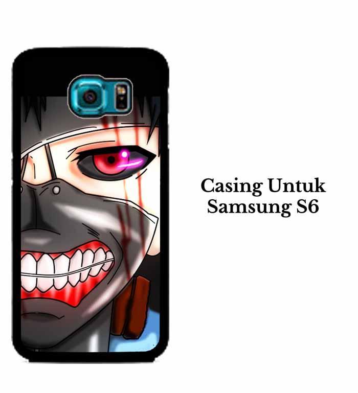 Casing SAMSUNG S6 ken kaneki mas 2 Hardcase Custom Case Se7enstores