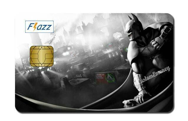 kartu BCA flazz batman custom design
