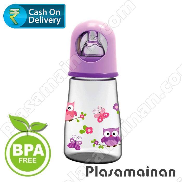 Baby Safe Feeding Bottle Karakter Animal 125ml JP002 Botol Susu Bayi