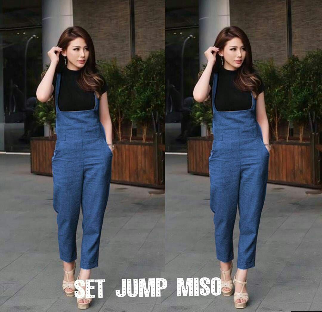 Popdesign Jumpsuit Misoka / Jumpsuit Wanita erbaru / Setelan Baju Kodok Wanita