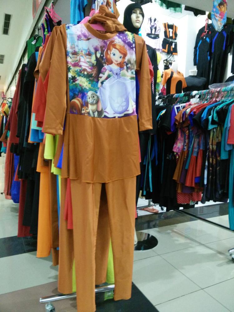 Baju renang muslim anak SOFIA
