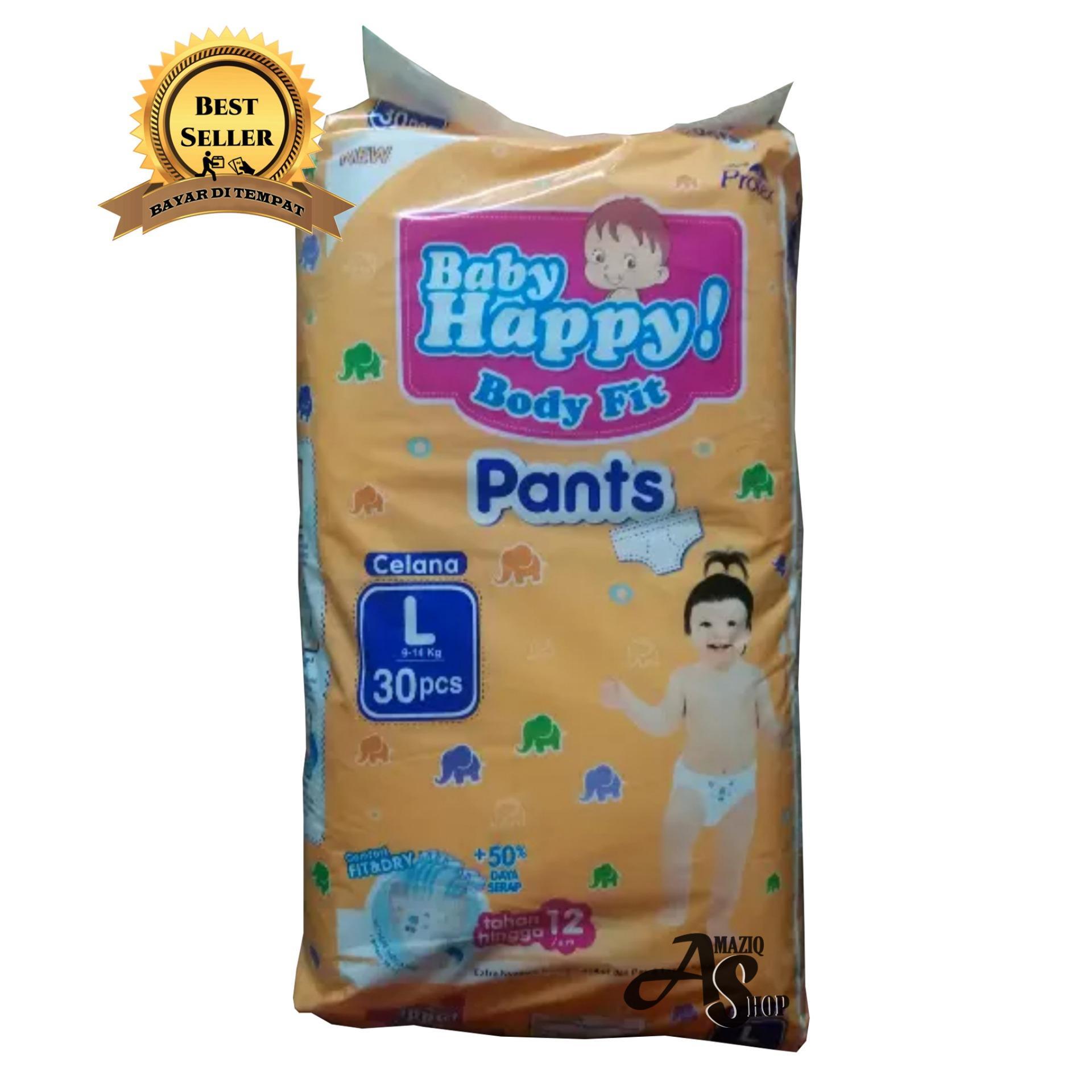 ... Anak Dan Bayi Size L 30 Source · Happy Diapers Pant Popok Bayi Giraffe Size L 26 pcs Source Baby Happy Body fit Pants