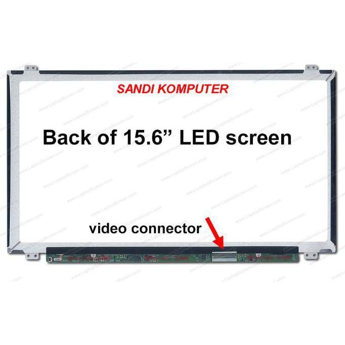 LCD LED ASUS X550 X550C X550CA X550CC X550DP X550ZE 15.6 INCH SLIM - ELEKTROZONE