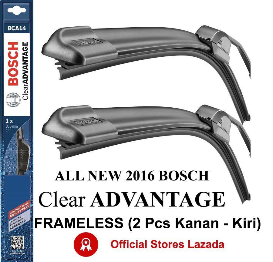 Wiper Mobil BOSCH Kijang Kapsul, Kijang LGX, Kijang Krista (2 pcs) Clear Advantage Frameless