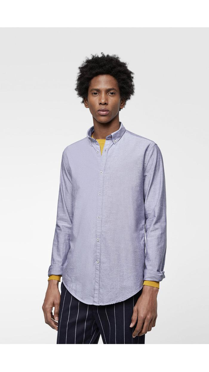 Kemeja Casual Oxford Zara Man Original Not Lacoste Fred perry Stussy