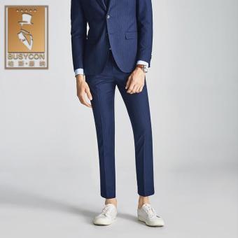 Pencari Harga Busycon celana formal strip warna biru Celana musim gugur kaki Kacil terbaik murah - Hanya Rp475.581