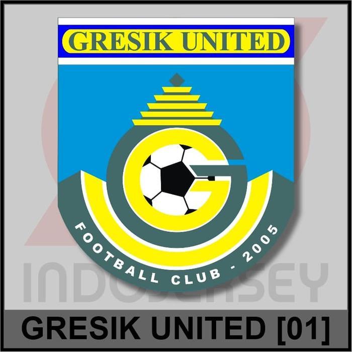 Harga Spesial!! Patch Badge Flock Liga Indonesia - Gresik United 01 - ready stock