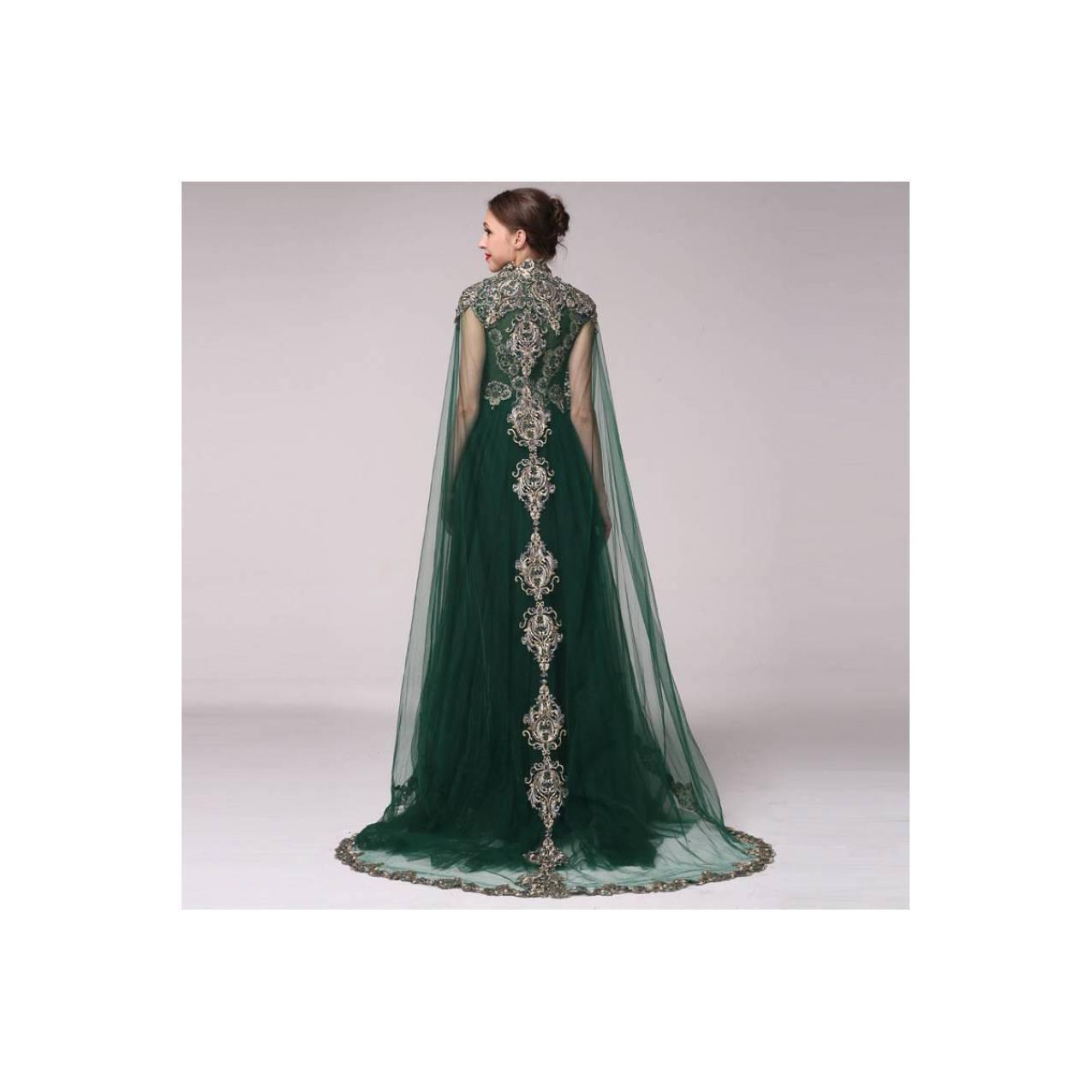 TS ZH233 Gaun Pengantin Kebaya Modern Gaun Pesta Fashion Muslim Import