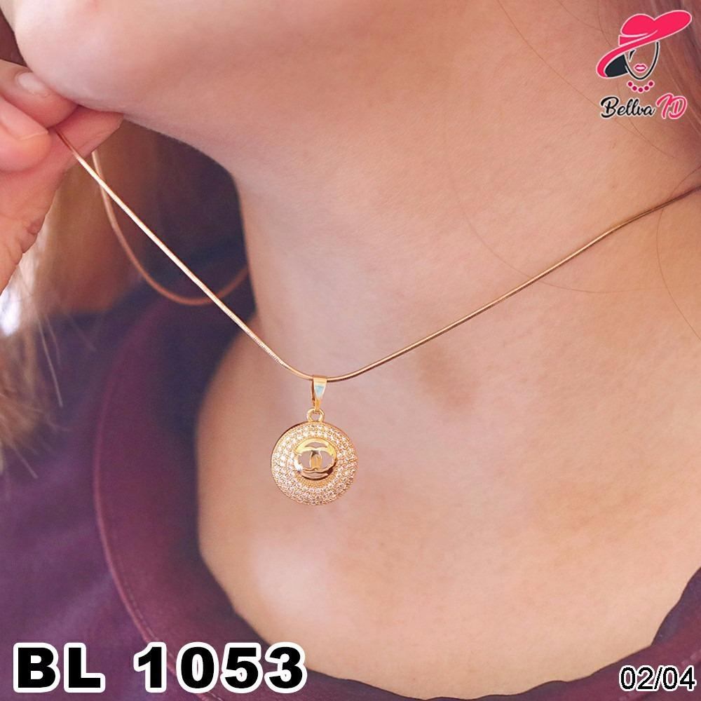 Kalung Chanel Gold L 1053