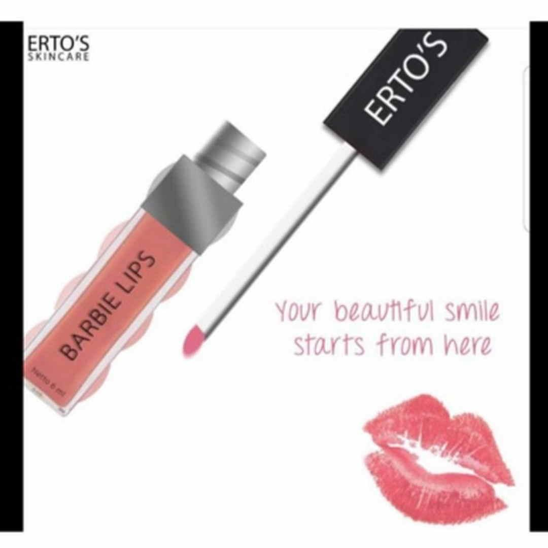 ertos lip cream barbie lipstik