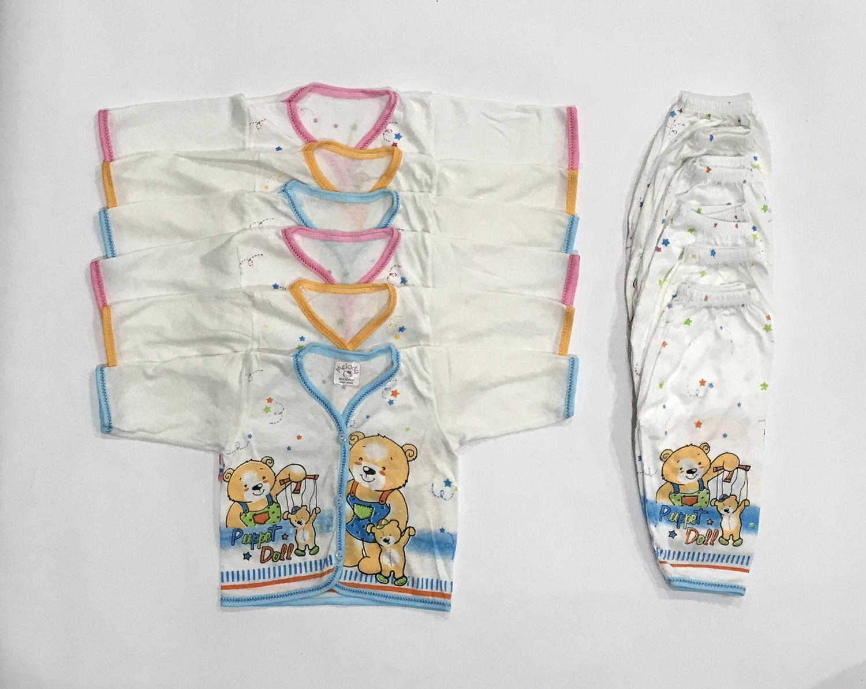 Daftar Harga Baju Lengan Panjang Bayi Terbaru 2018 Cekharga Bayie 6 Set Setelan Celana Motif Lucu New Born