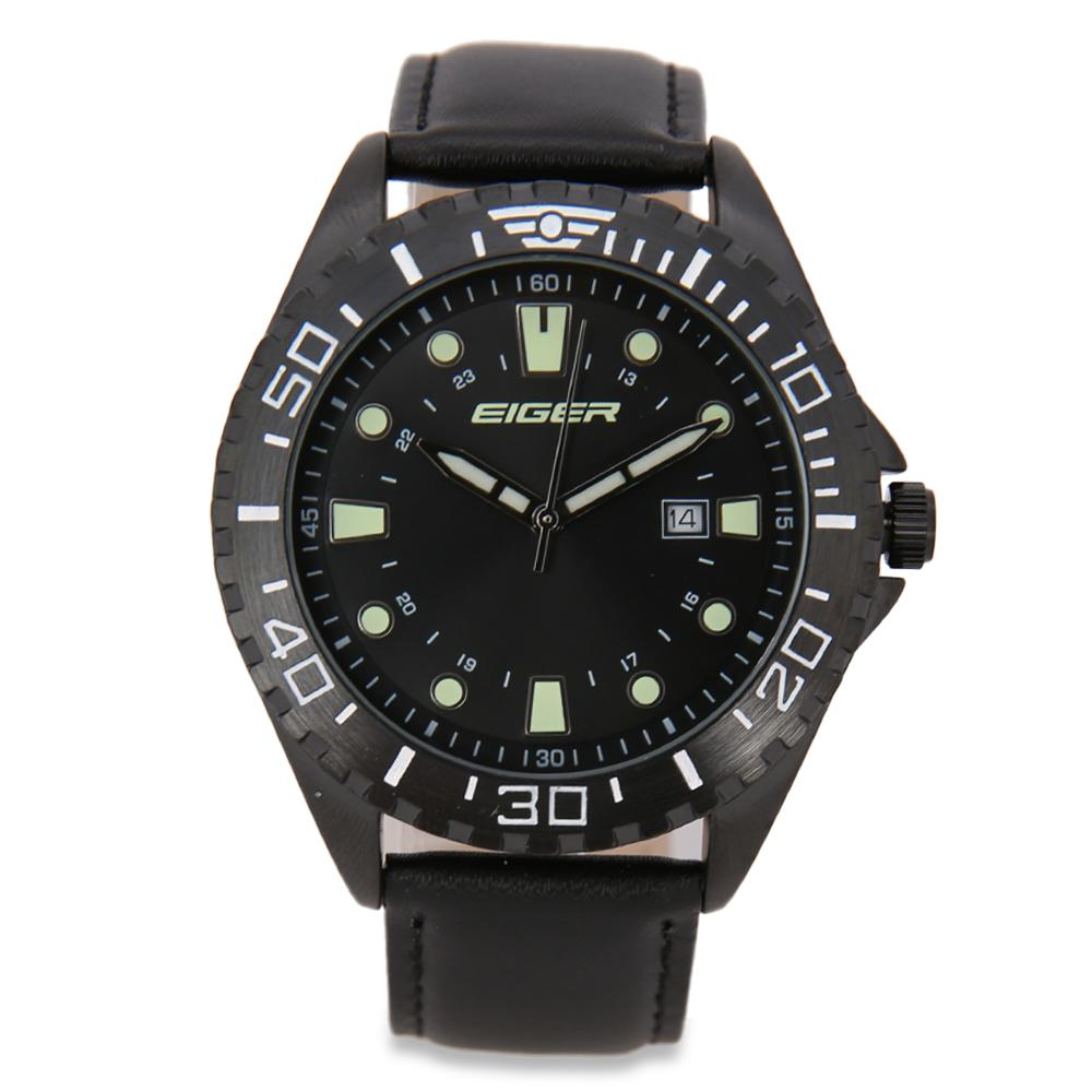Eiger Riding Route Watch - Black