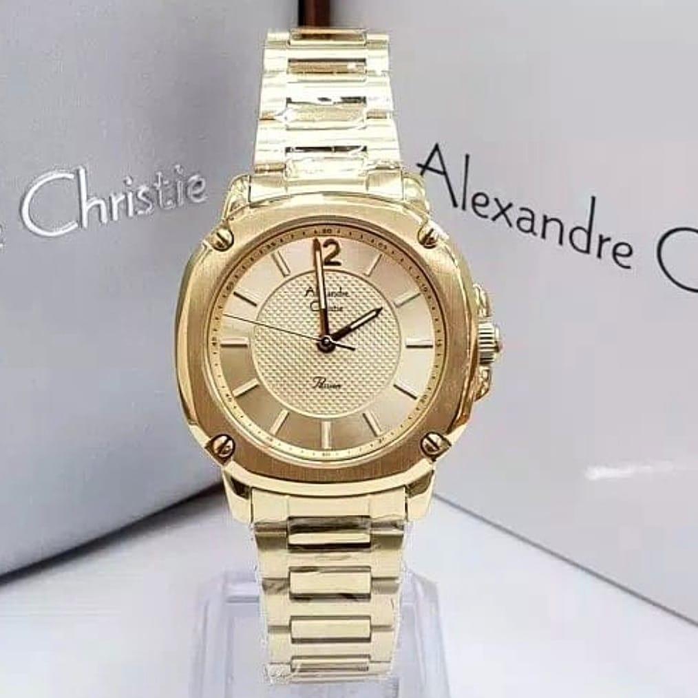 Alexandre Christie Original AC2659 -Jam Tangan Wanita- Light Rosegold 61b240ff12
