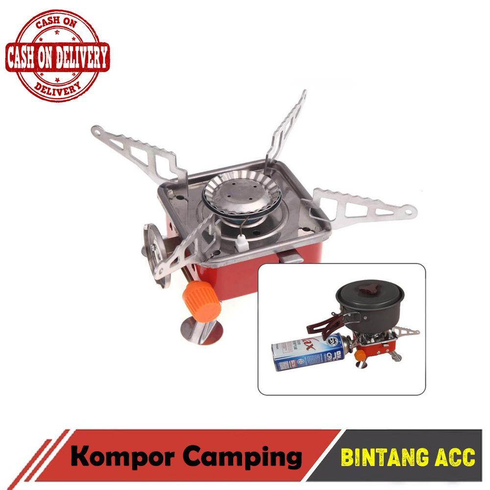Bintang Acc Kompor Portable Camping Mini Lipat Portabel Untuk Stove