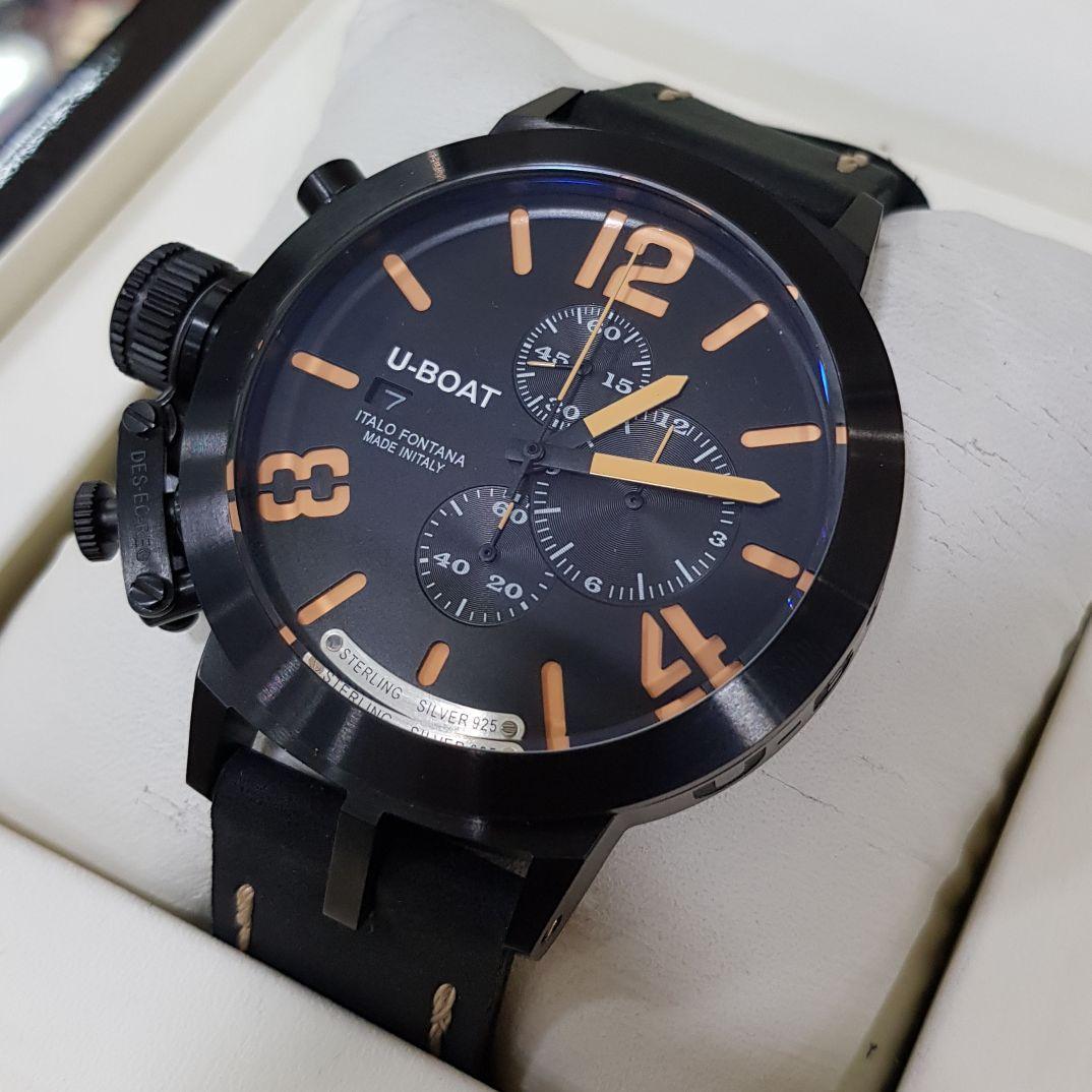 Jam Tangan Pria U-Boat Sterling SLV925
