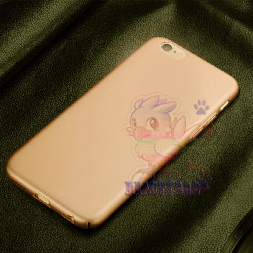 Case For Apple Iphone 6G Hard Slim Gold Mate Anti Fingerprint Hybrid Case Baby Skin Iphone 6S Baby Soft Iphone 6 Hardcase iphone 6 Plastic Back Cover ...