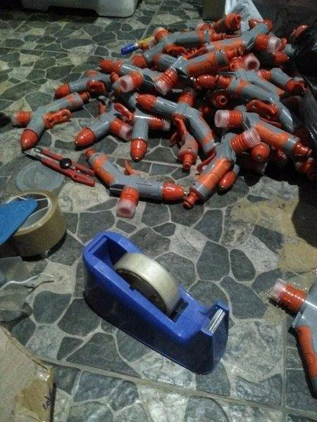 Water Jet Gun Include Tabung Sabun Ver. 2