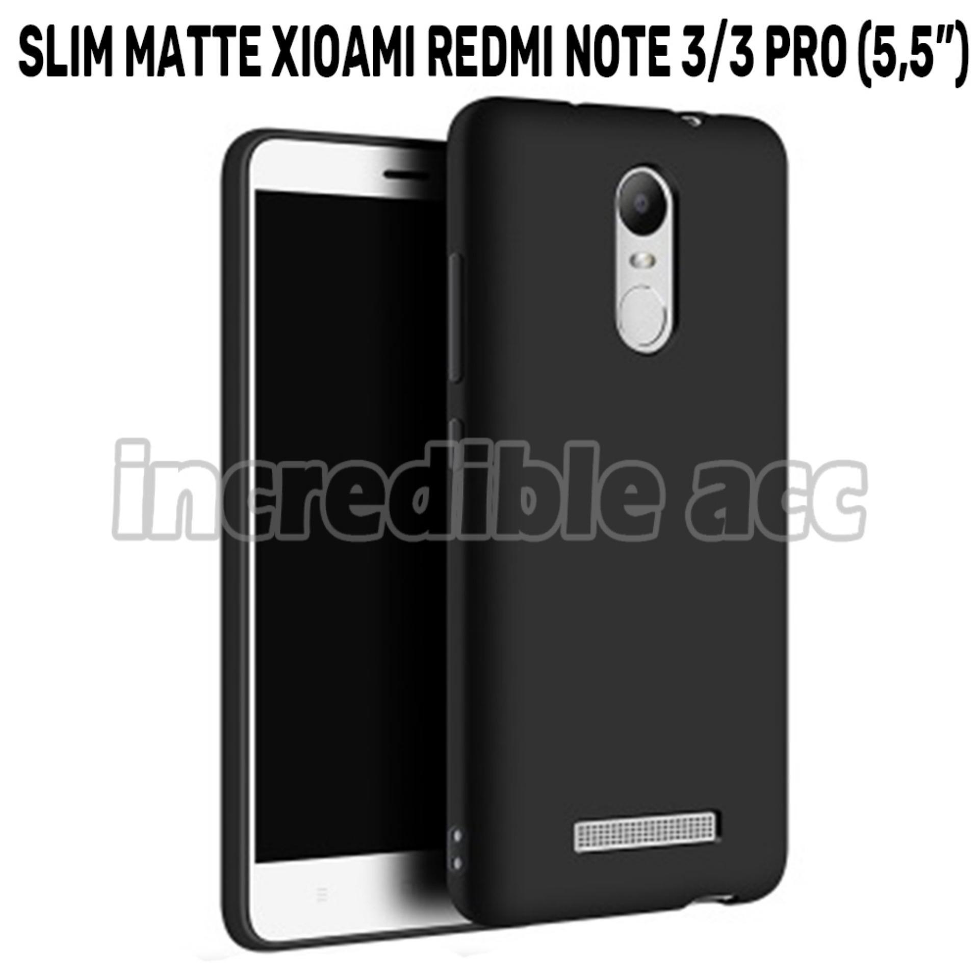 Xiaomi Redmi Note 3 Pro Baby Skin Soft Anti Fingerprint Babby Skin Softase Silicon Slim Matte