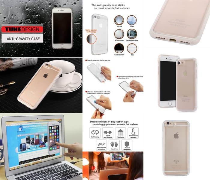 Casing / Cover Anti-Gravity Selfie Case for iPhone 7/7S Original Original Murah