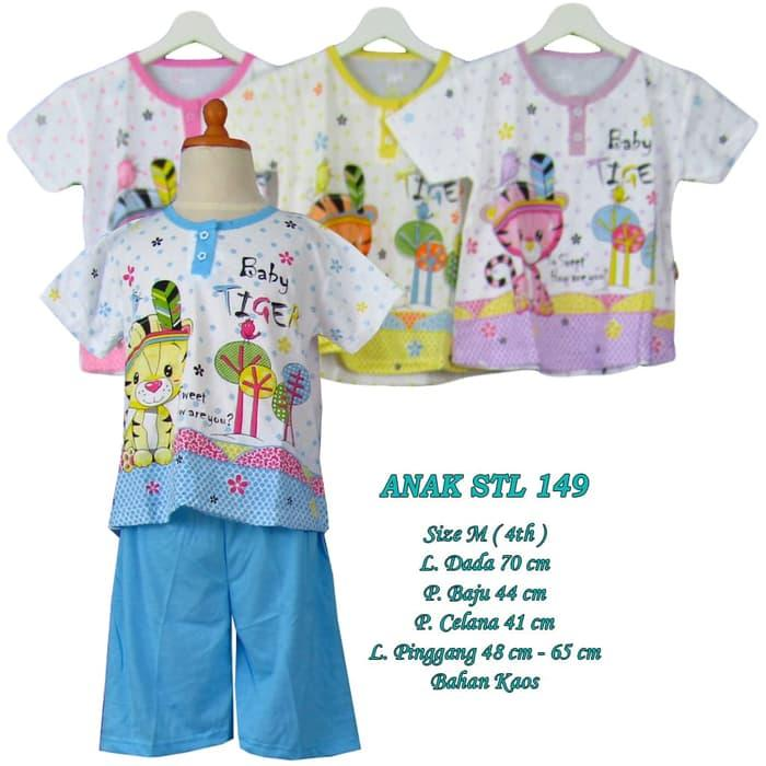 Baju tidur anak 4 tahun setelan celana pendek kaos size M - M-ANAK STL 149, Pink / Baju Tidur / Baju Tidur Wanita / Baju Tidur Jumbo / Setelan Baju Tidur / Baju Tidur Murah / Baju Tidur Kekinian / Baju Tidur Berkualitas