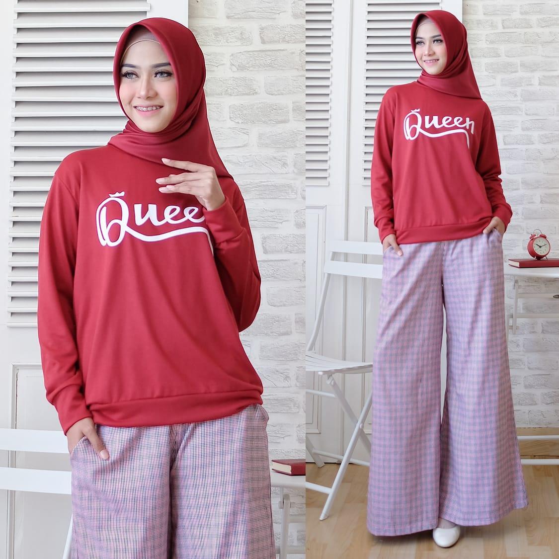 Jkt Hijab Grosir Fashion Setelan Queen Sabyan / Dress Maxi / Maxi Muslim / Setelan Maxi Dress  / Baju Rok Muslim / Setelan Busana Muslim / Setelan Baju Muslim / Baju Gamis Wanita / Setelan Muslim / Hijab Fashion / Hijab Style / Baju Santai Muslim