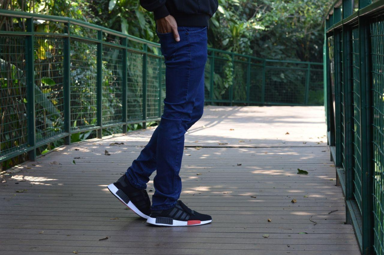 Daftar Harga Celana Jeans Keren Terbaru Termurah Bulan November 2018 Tcash Juli Strech Panjang Pria Model Slimfit Hitam Ga Blueblack