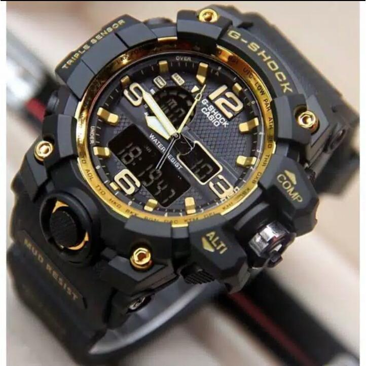 Jam Tangan Fashion Pria Gshock GA1000 Series Water Resist 30M