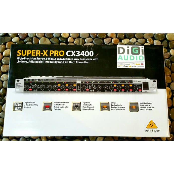 Harga Diskon!! Behringer Cx3400   Cx 3400 Pro Speaker Crossover   Signal Processor - ready stock