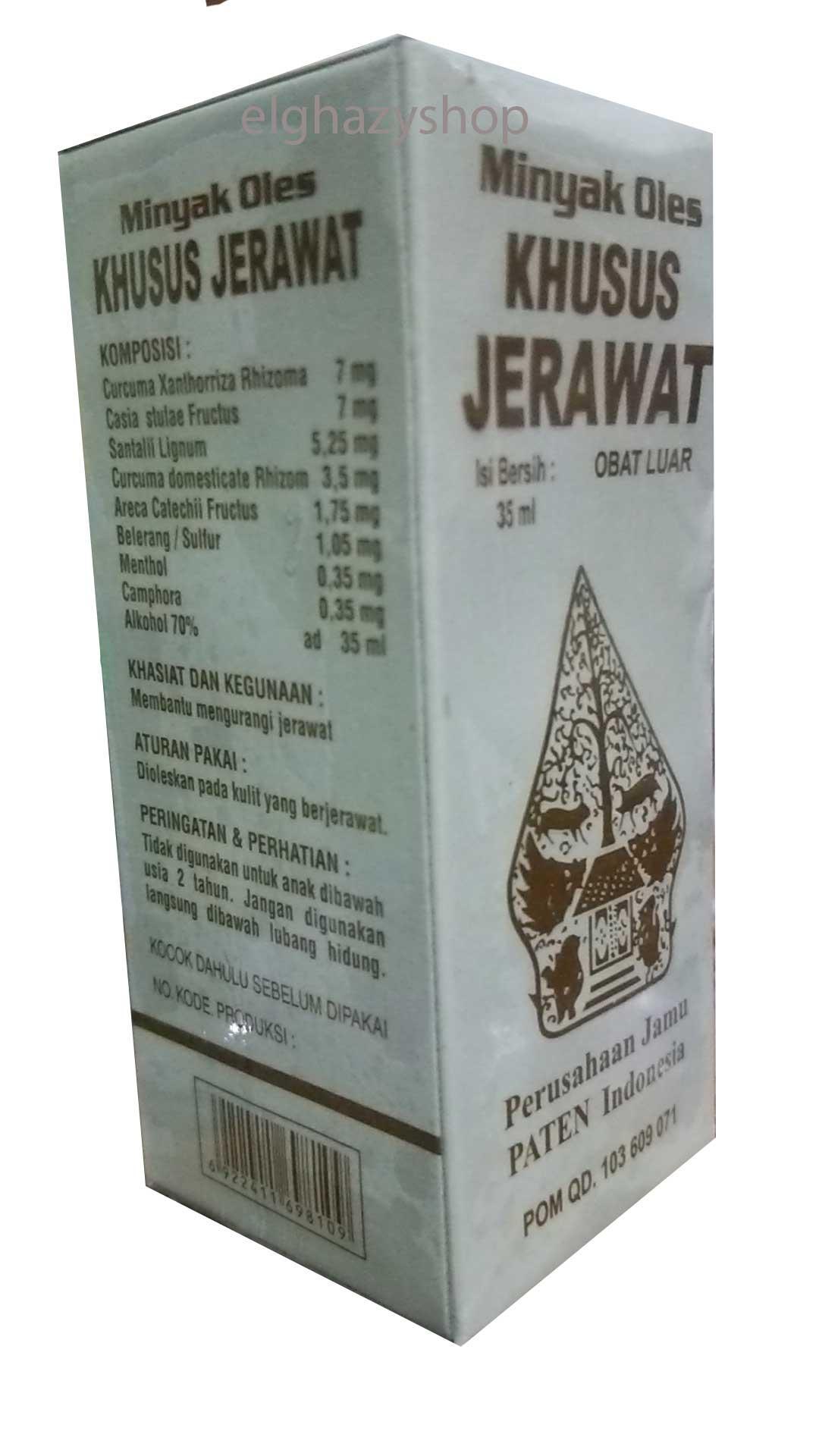Jual Promo Minyak Oles Jerawat Cap Wayang Harga Rp 43000 Khusus Obat